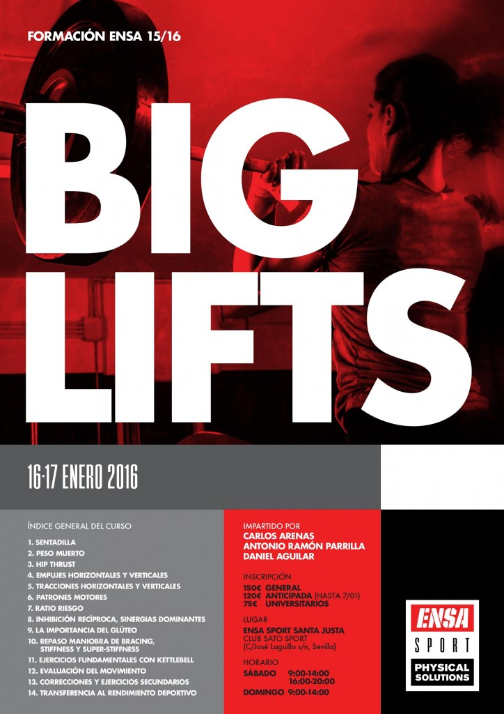 CURSO BIG LIFTS