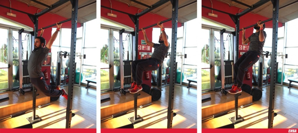 """""""Butterfly pull-ups"""""""