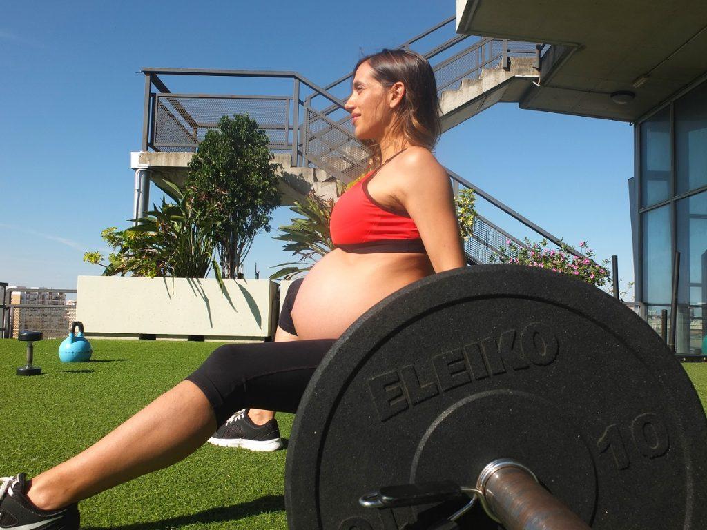 entrenamiento embarazo