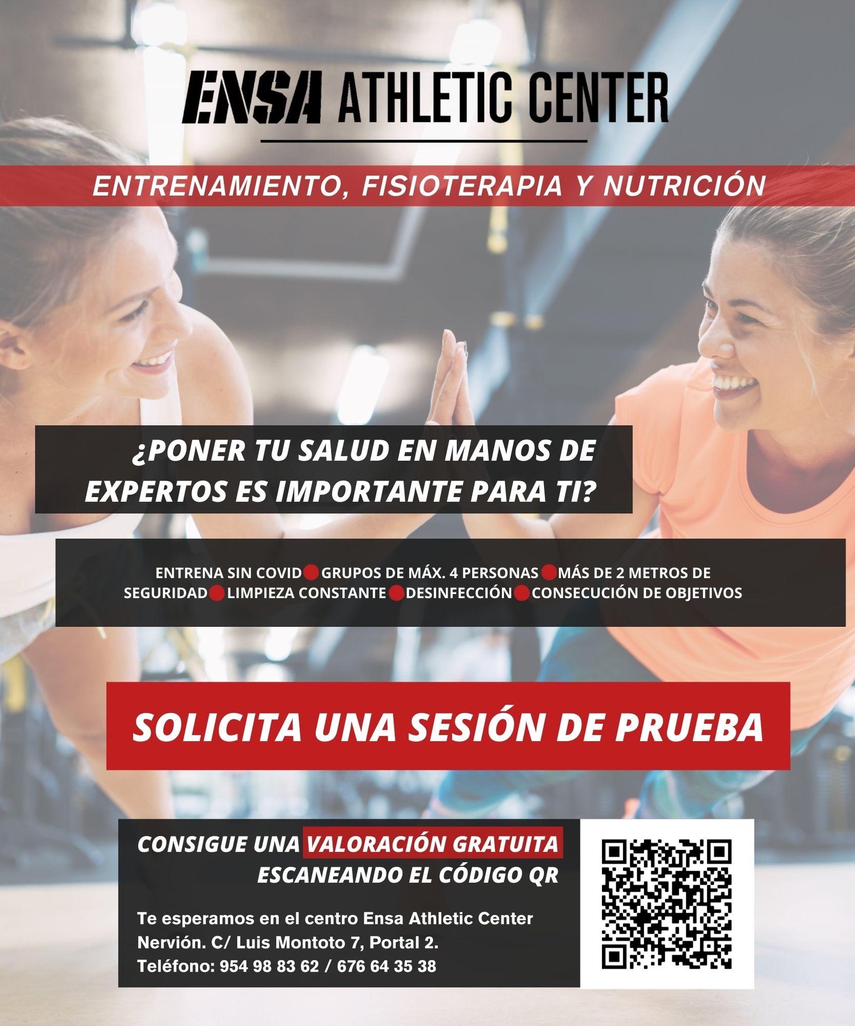 Sesión gratuita Centro Ensa Athletic Center