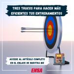 TRES TRUCOS PARA HACER MÁS EFICIENTES TUS ENTRENAMIENTOS